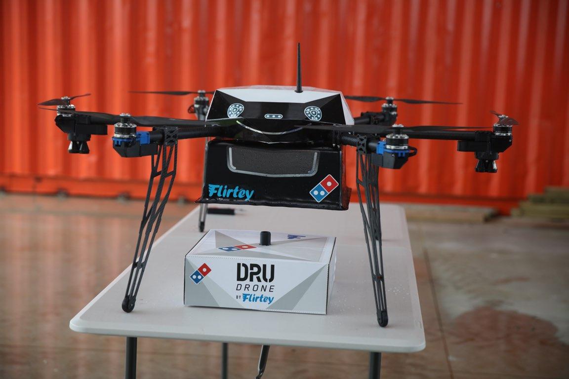 Sieć Domino's w Nowej Zelandii testuje dostawy pizzy za pomocą drona