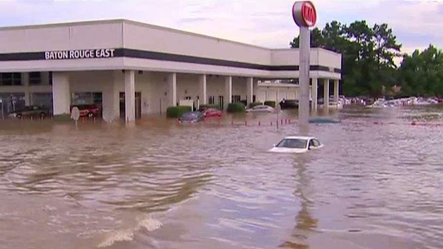 Stan klęski żywiołowej w Luizjanie