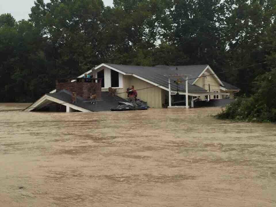 USA: Powódź stulecia w Luizjanie