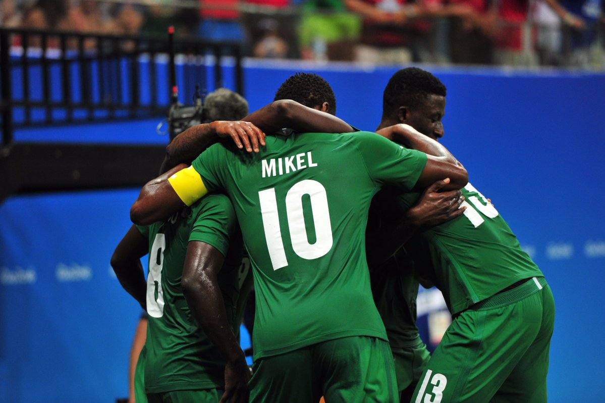 Piłka nożna – Kadra Nigerii na mecz z Polską