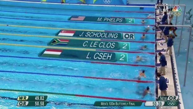Phelps pokonany. Mamy TRZY srebrne medale