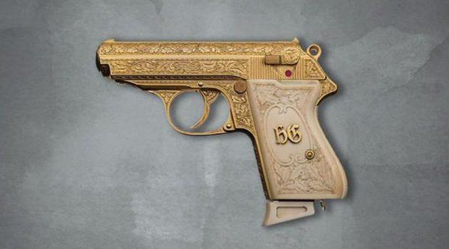 Licytacja pistoletu Hermanna Göringa w domu aukcyjnym w Illinois