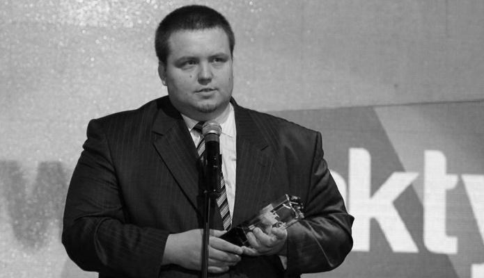 Zmarł dziennikarz i działacz sportowy Damian Gapiński. Miał 36 lat