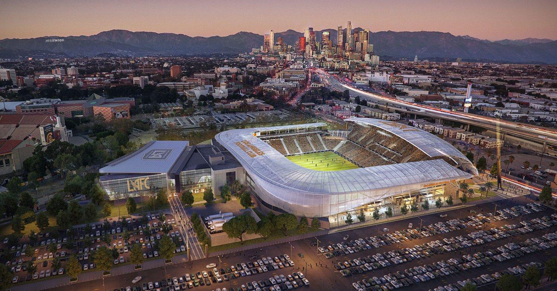 W Los Angeles ruszyła budowa nowego stadionu piłkarskiego
