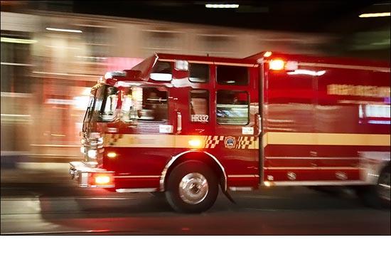 Trzech strażaków ucierpiało w pożarze własnej remizy