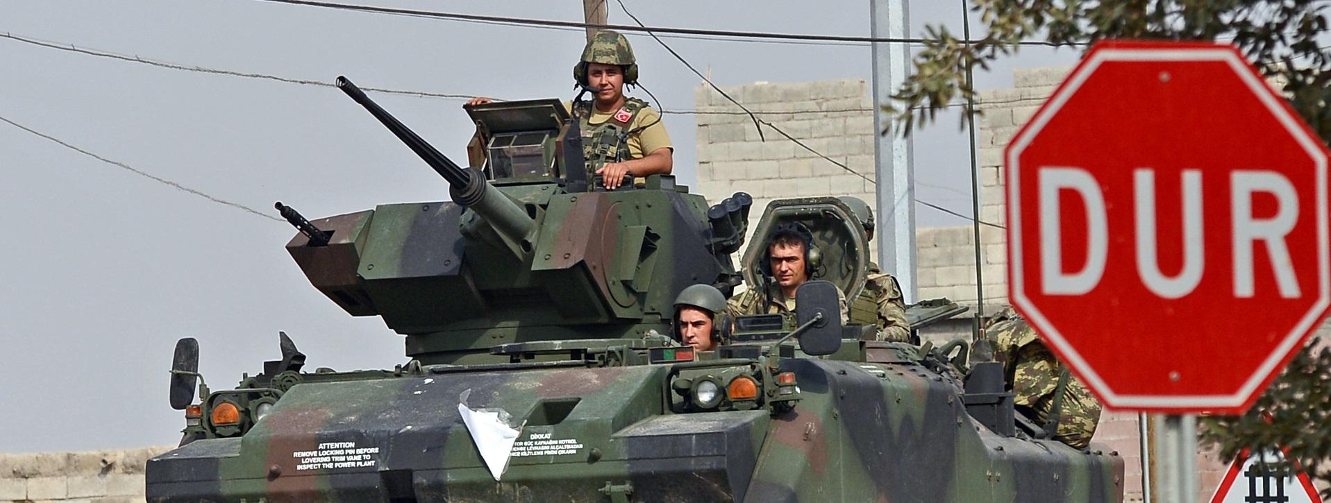 Militarna próżnia po wyjściu USA z Syrii?