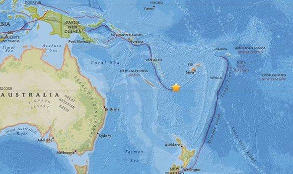 Silne trzęsienie ziemi w Vanuatu