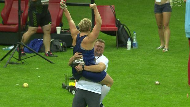 Anita Włodarczyk z rekordem świata! Fenomenalny rzut!