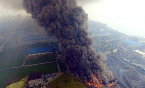 47 osób zginęło w eksplozji fabryki w Chinach, rannych zostało ponad 600 osób, z czego 90 – poważnie