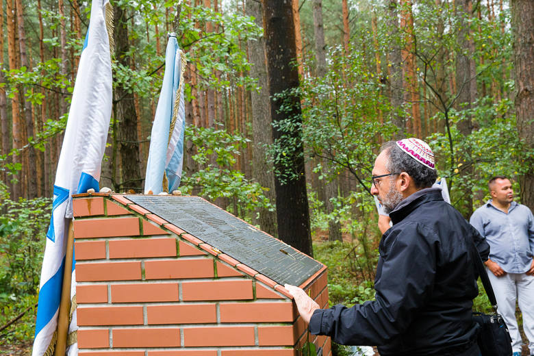 75. rocznica mordu Żydów w Lesie Łopuchowskim