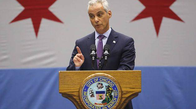Burmistrz Rahm Emanuel pisze książkę o tym jak zarządzał Chicago