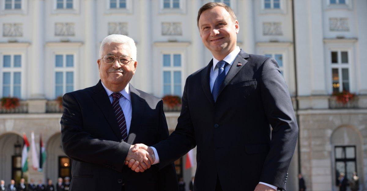 Prezydent Palestyny z oficjalną wizytą w Polsce