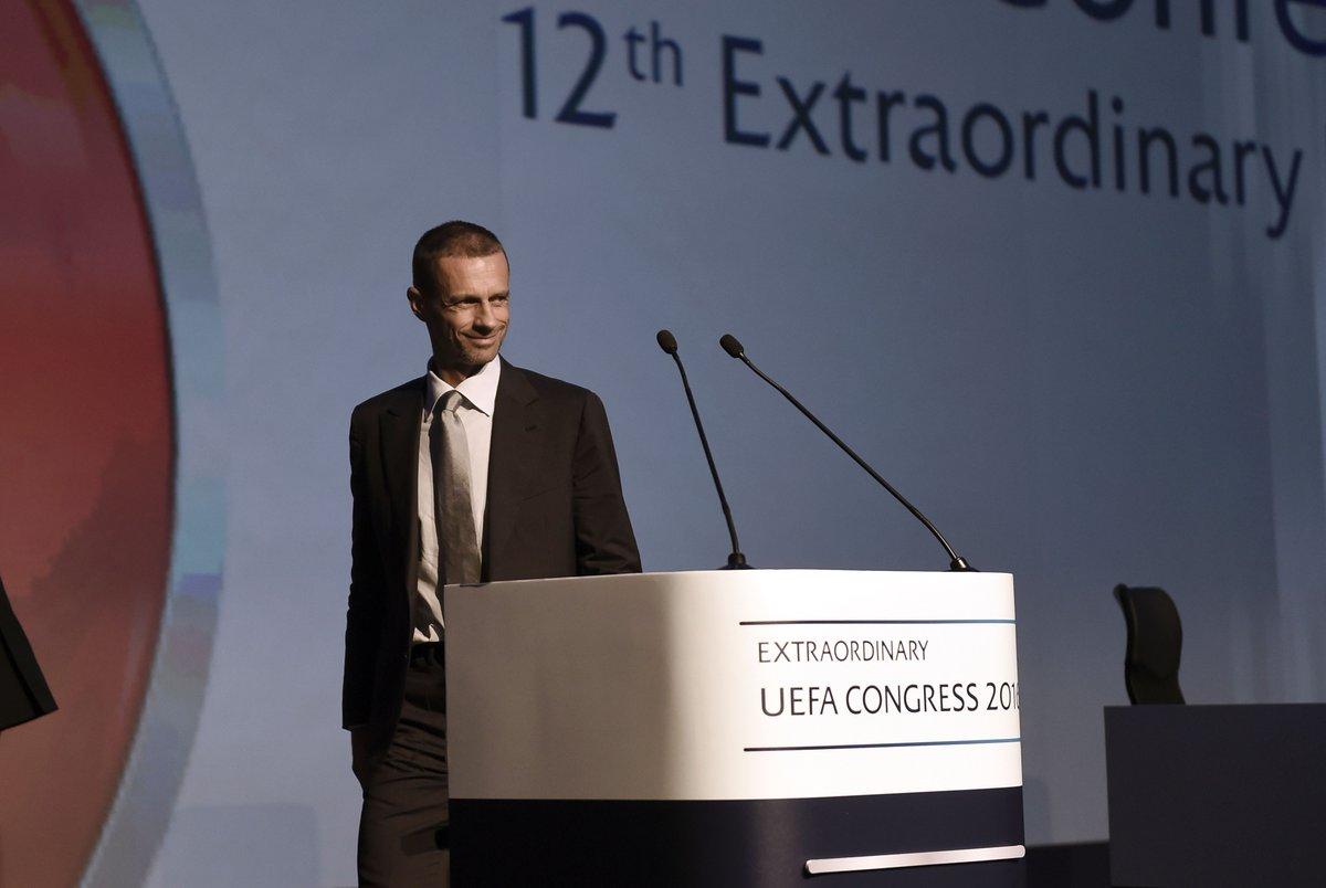 Aleksandar Ceferin nowym prezydentem UEFA