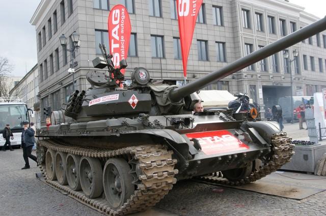 Konwersja czołgu na… LPG