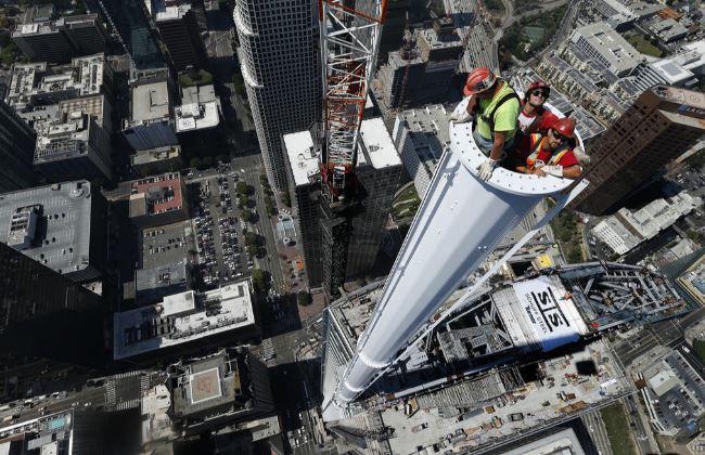 W Los Angeles stanął najwyższy budynek na zachodzie USA