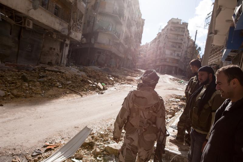 Syryjscy rebelianci rozpoczęli ofensywę w Aleppo