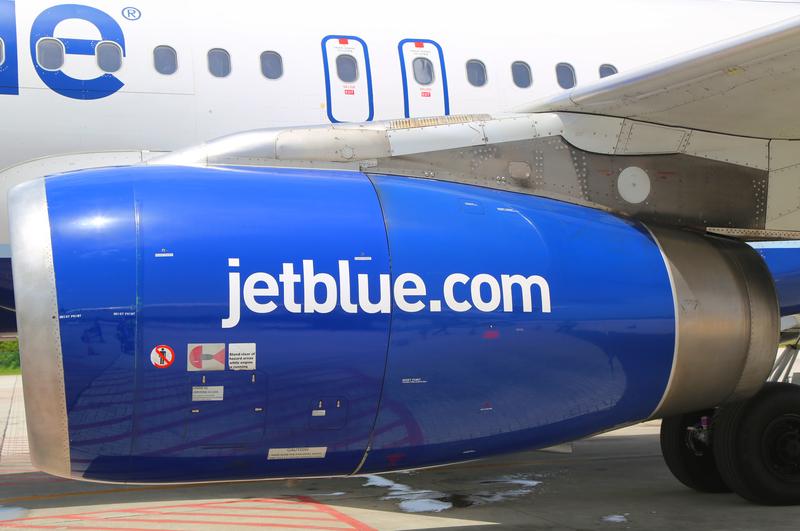 Piorun uderzył w samolot JetBlue