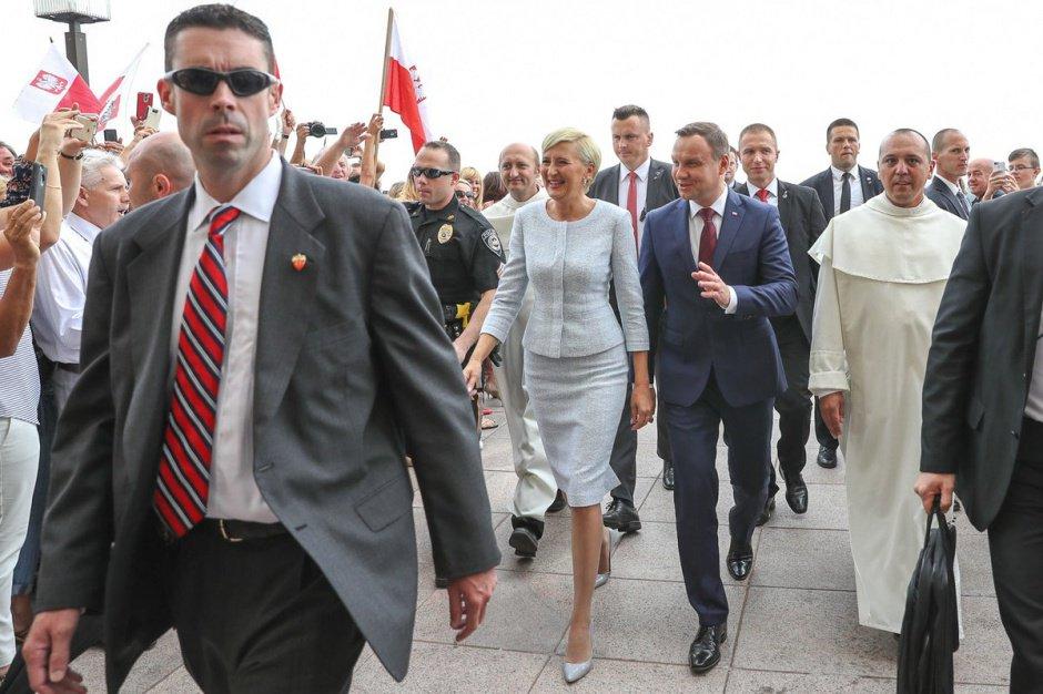 Drugi dzień wizyty prezydenta Dudy w USA