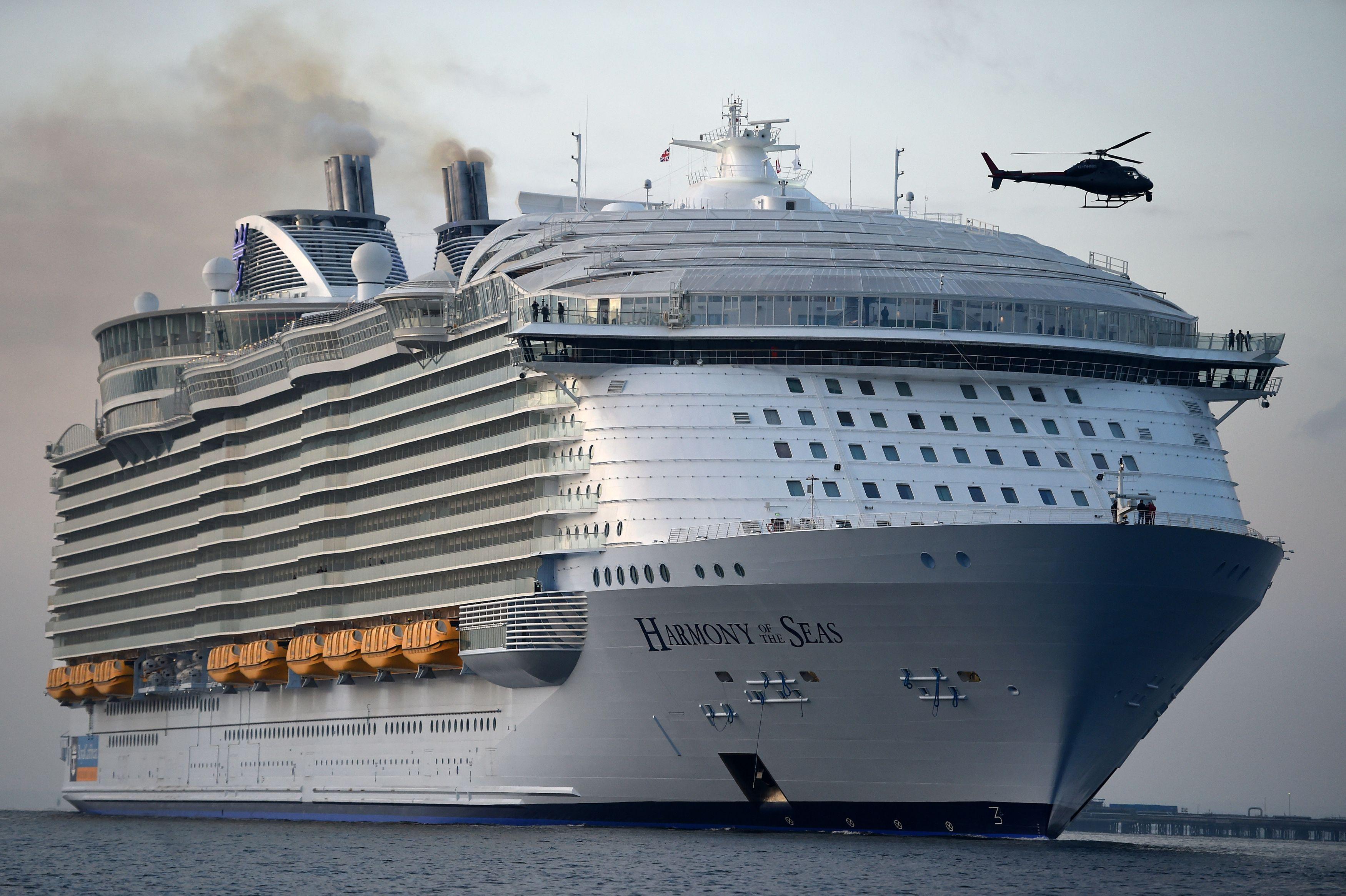 Wypadek na największym statku wycieczkowym świata. Nie żyje jedna osoba, cztery są ranne