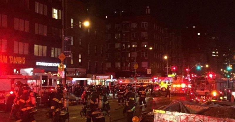 Eksplozja na Manhattanie w Nowym Jorku – 29 osób rannych