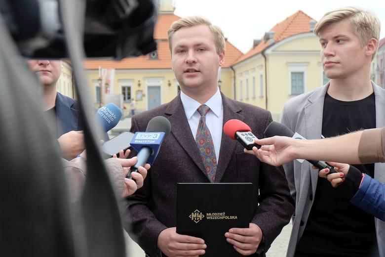 Młodzież Wszechpolska: Odebrać Wałęsie honorowe obywatelstwo Białegostoku!