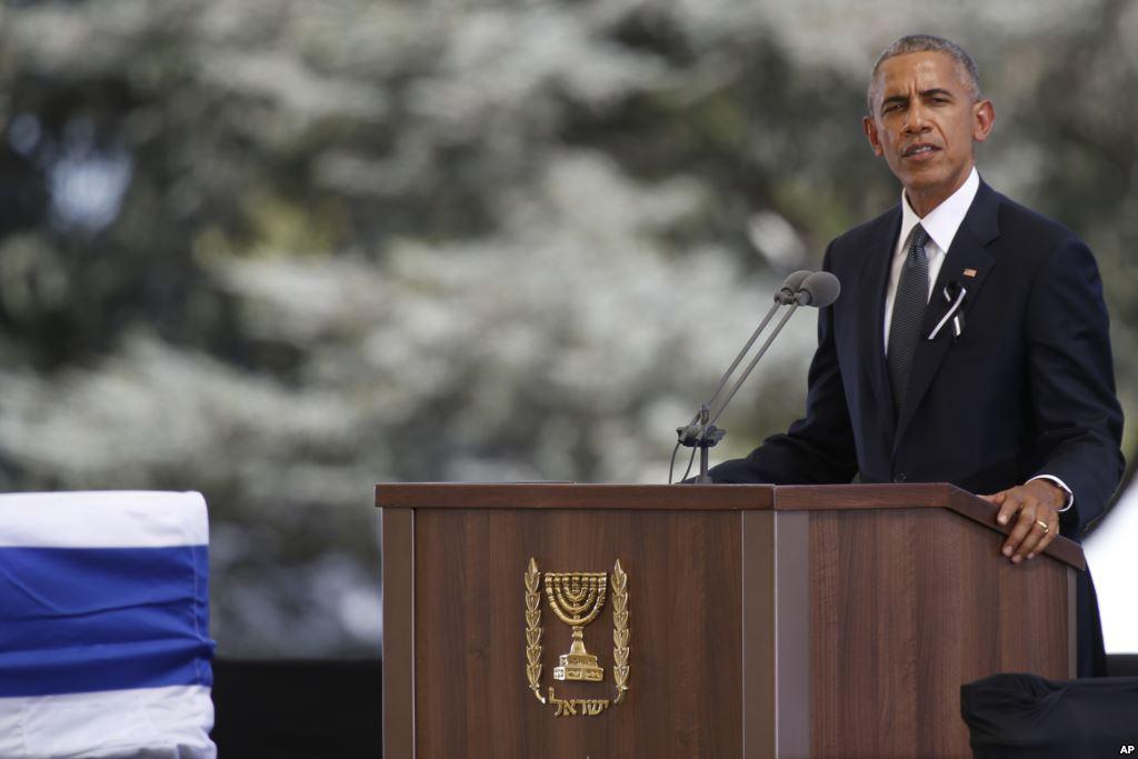 """Barack Obama: """"Odszedł ostatni z pokolenia założycieli Izraela"""""""