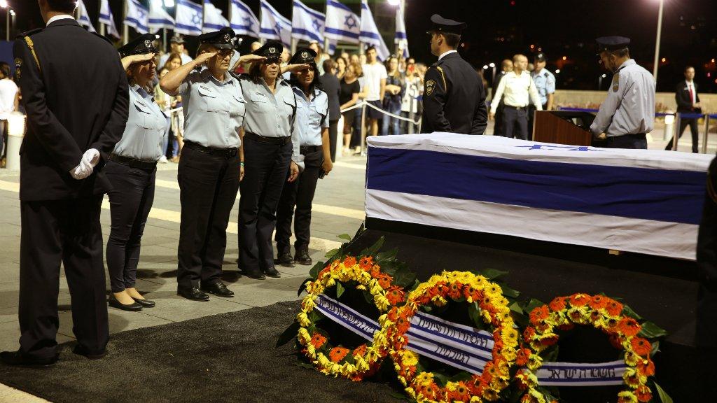 Uroczystości pogrzebowe Szymona Peresa w Jerozolimie