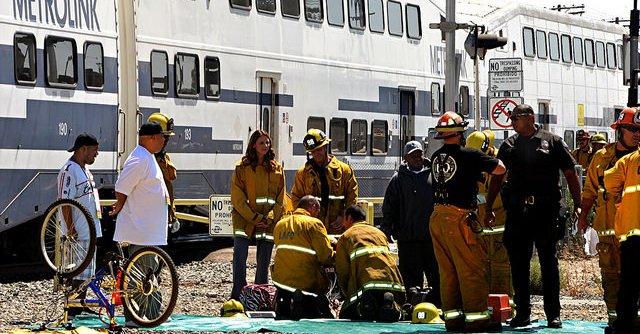 21 rannych w wypadku pociągu w Los Angeles