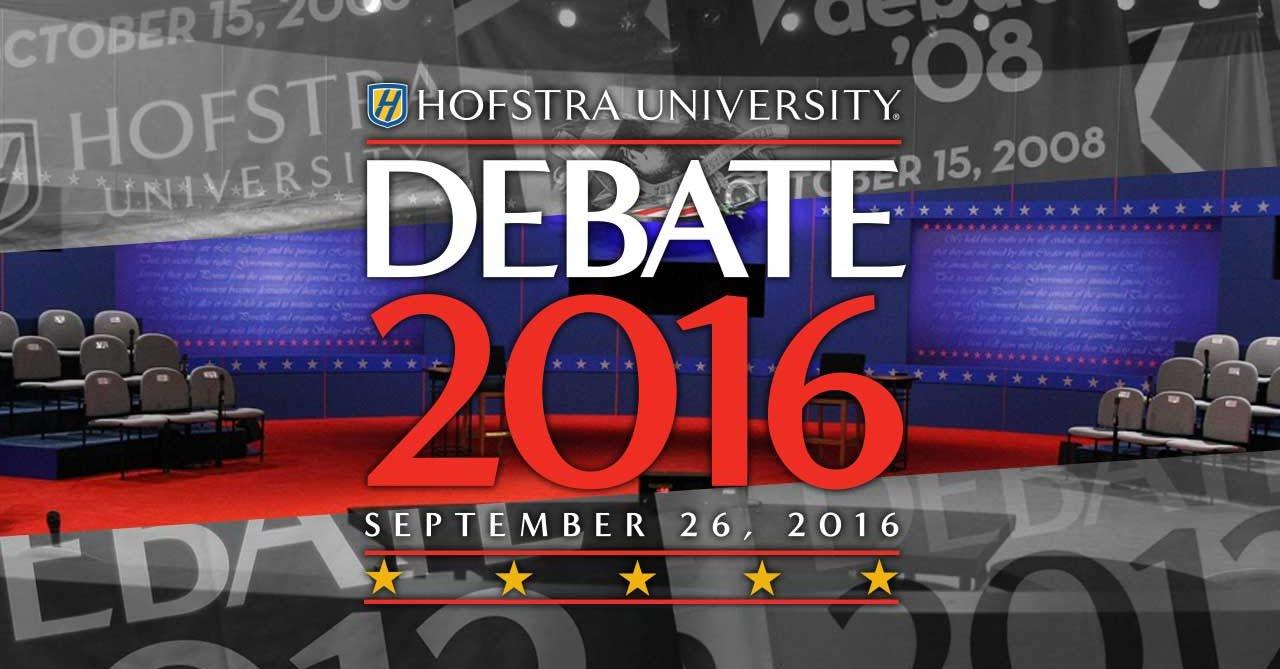 Dziś pierwsza debata Hillary Clinton – Donald Trump
