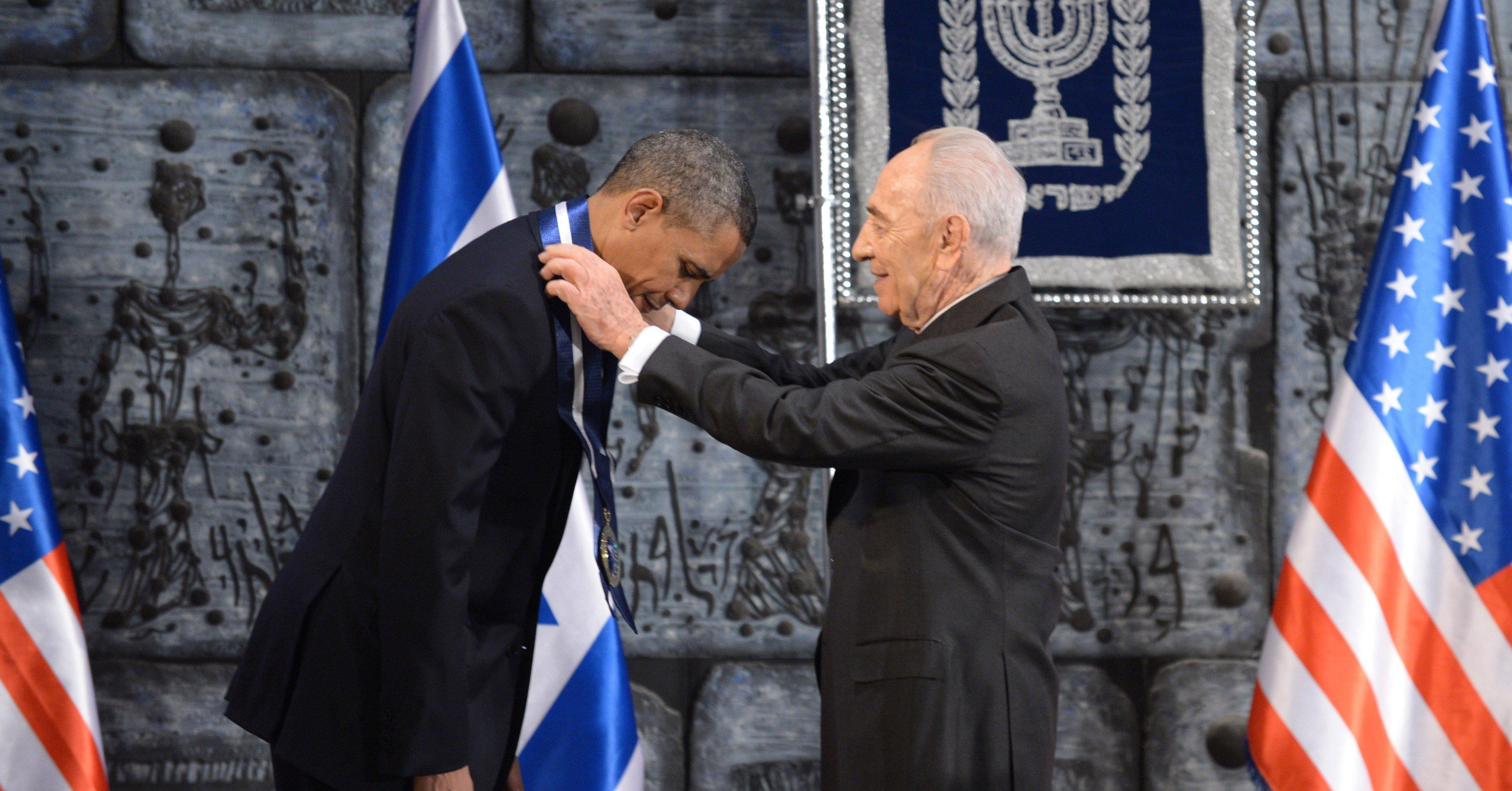 Prezydent Obama będzie przemawiał na pogrzebie Szymona Peresa