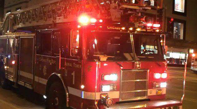 Strażacy uratowali 8 osób z zanurzonych aut po ulewie w Massachusetts