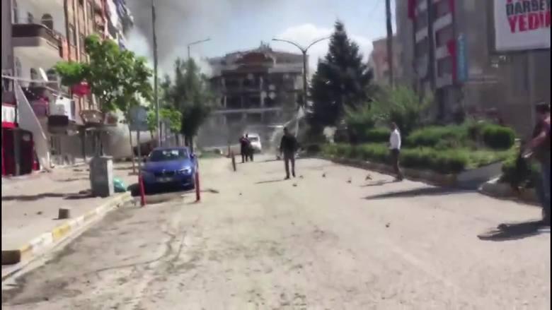 Potężny wybuch w mieście Wan w Turcji. 27 osób rannych