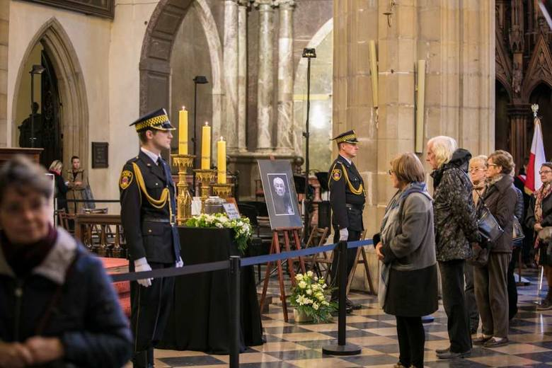 Uroczystości pogrzebowe Andrzeja Wajdy