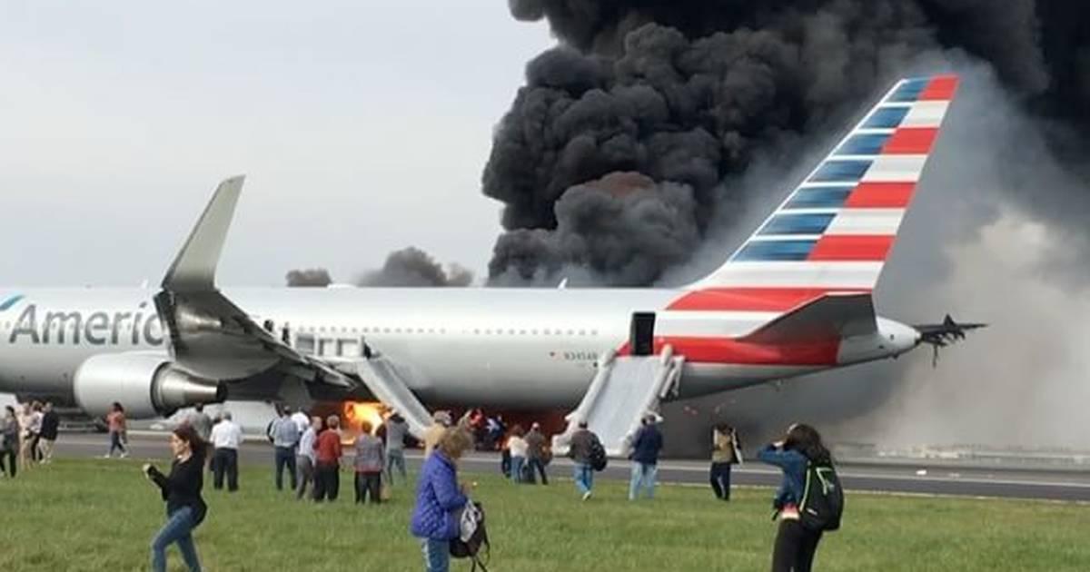 Pasażerowie samolotu, który stanął w płomieniach złożyli zbiorowy pozew