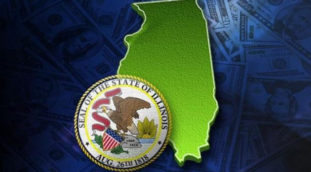 Spadek wiarygodności kredytowej Illinois
