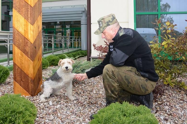 Bajtek – pies ze straży granicznej – odszedł na emeryturę