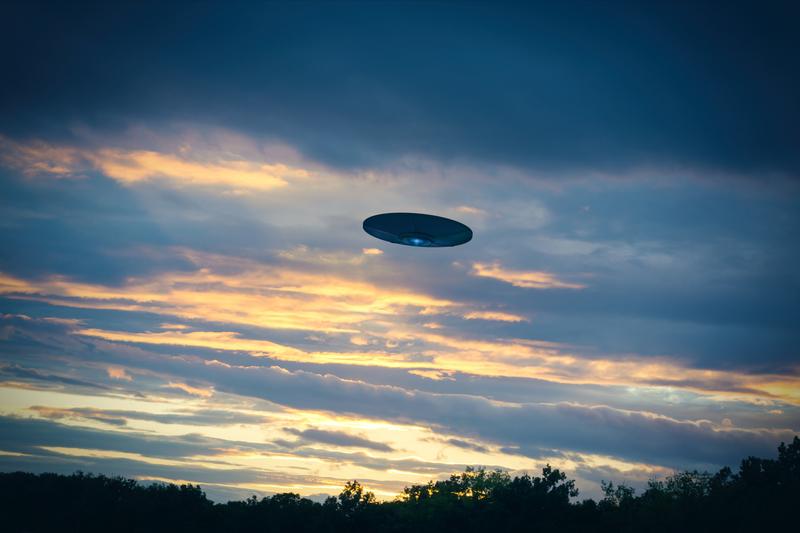 Widział UFO, nie pozwala na przesunięcie pomnika