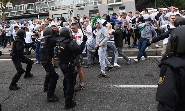 Polscy pseudokibice wypuszczeni z aresztu w Madrycie