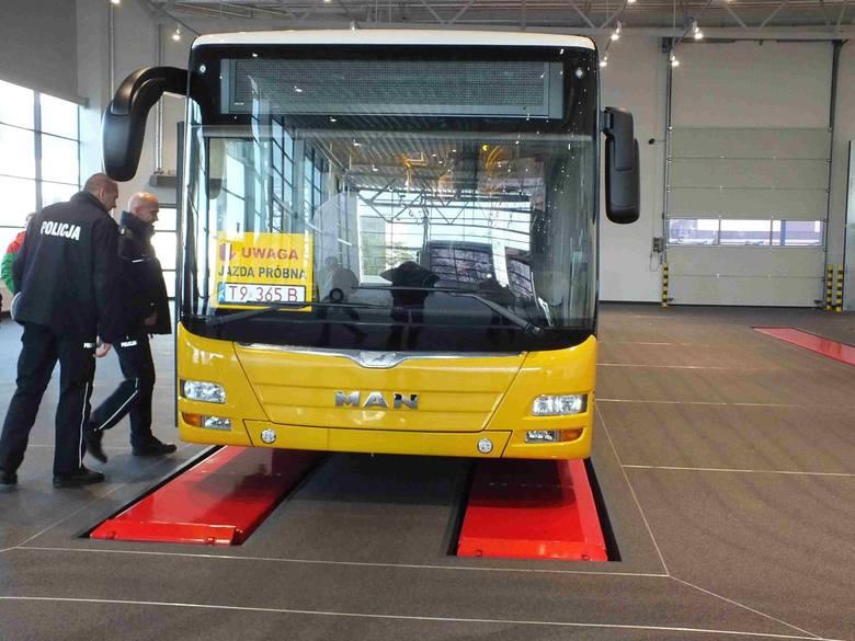 Pierwsze autobusy MAN ze Starachowic