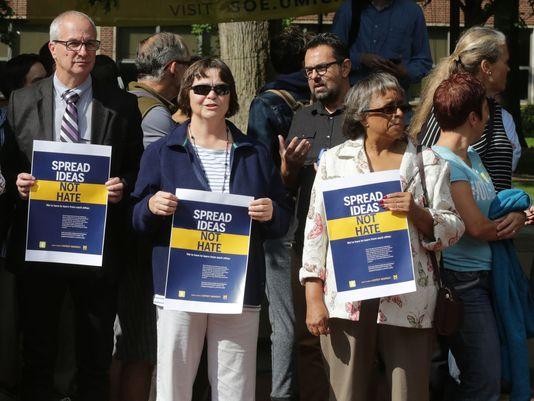 Kadra Uniwersytetu Michigan protestowała przeciwko rasizmowi