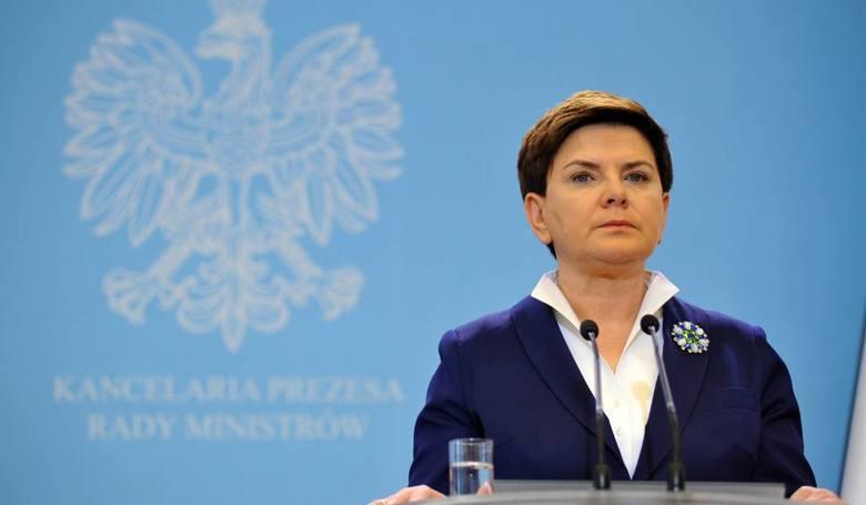"""Dziś premier Szydło """"przegląda"""" gospodarkę"""