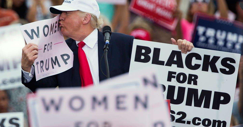 Trump o oskarżeniach o napastowanie seksualne: Te kobiety to okropne kłamczuchy!