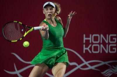 Karolina Woźniacka wygrała turniej w Hongkongu