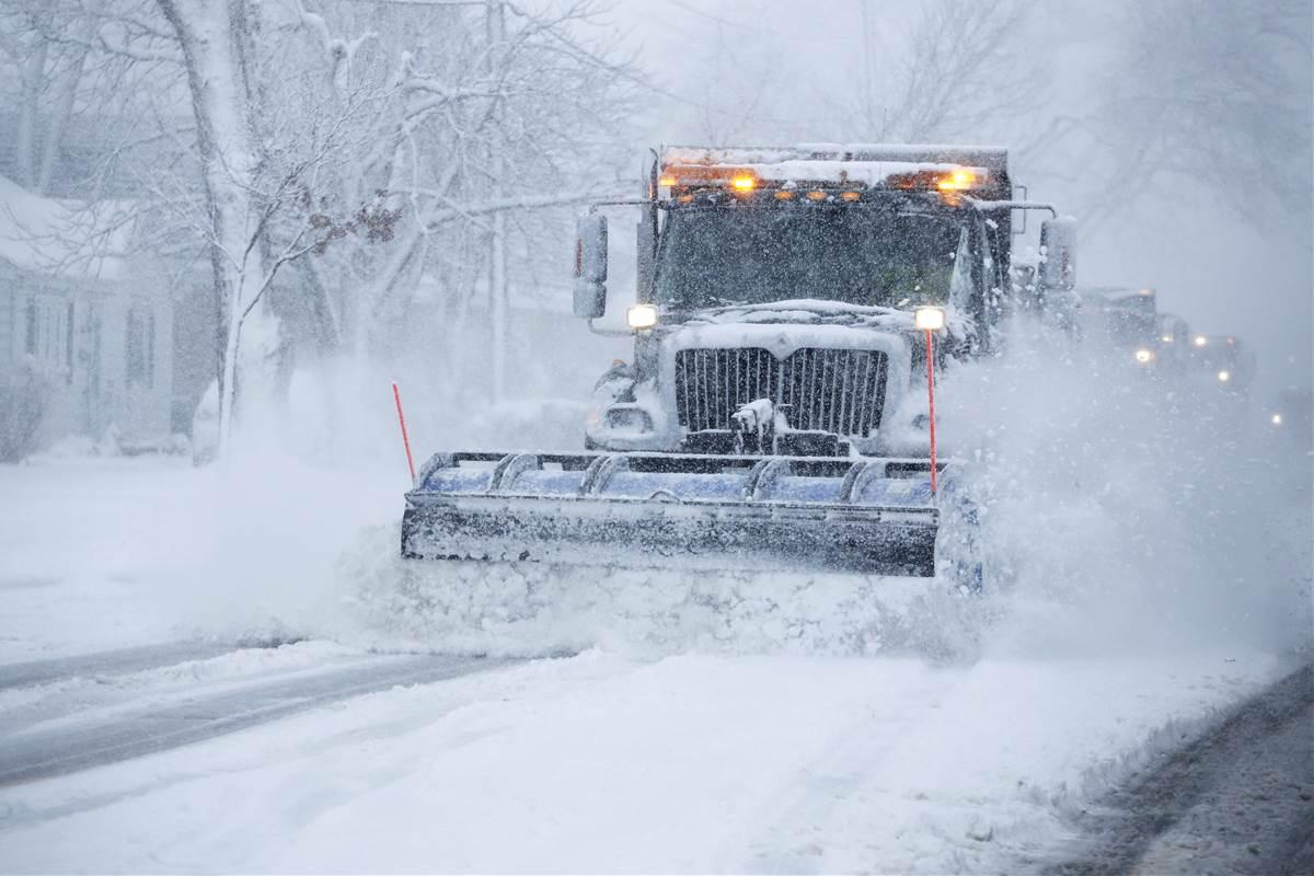 Intensywne opady śniegu sparaliżowały Chicago