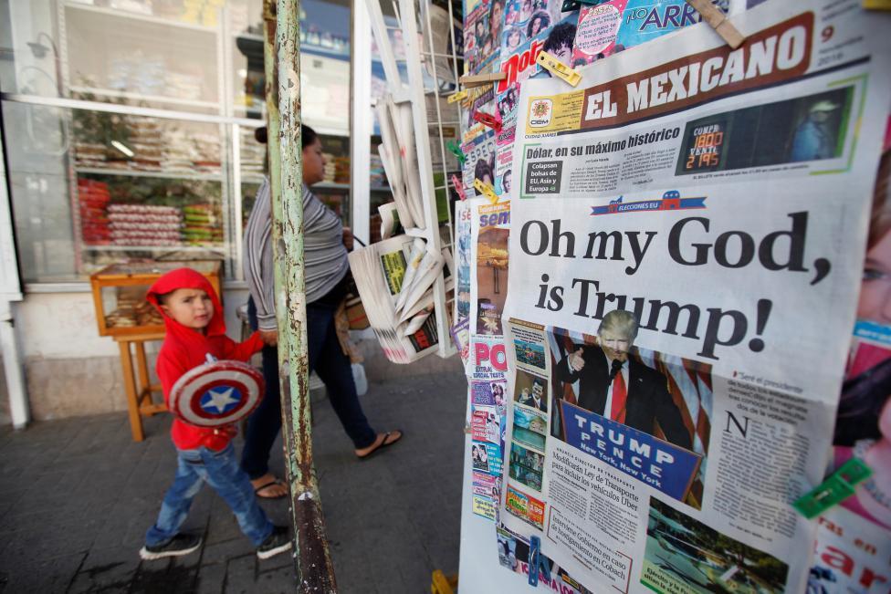 Rząd Meksyku chce rozmów z Trumpem ws. deportacji nielegalnych imigrantów