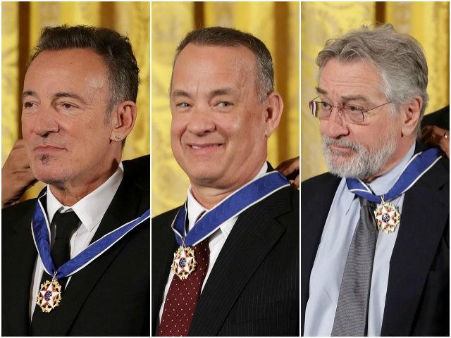 Obama wręczył Medale Wolności. Wśród odznaczonych De Niro, Hanks, Winfrey i Jordan