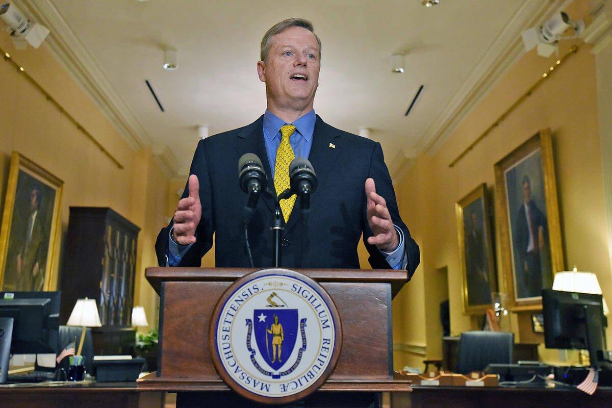 Charlie Baker ponownie zaprzysiężony na gubernatora Massachusetts