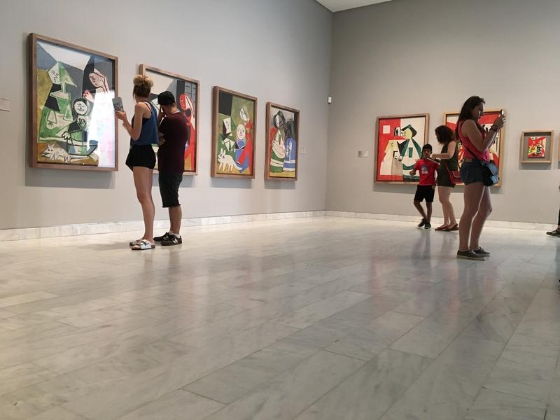 Kolekcja prywatnych zbiorów Picassa w barcelońskim muzeum malarza
