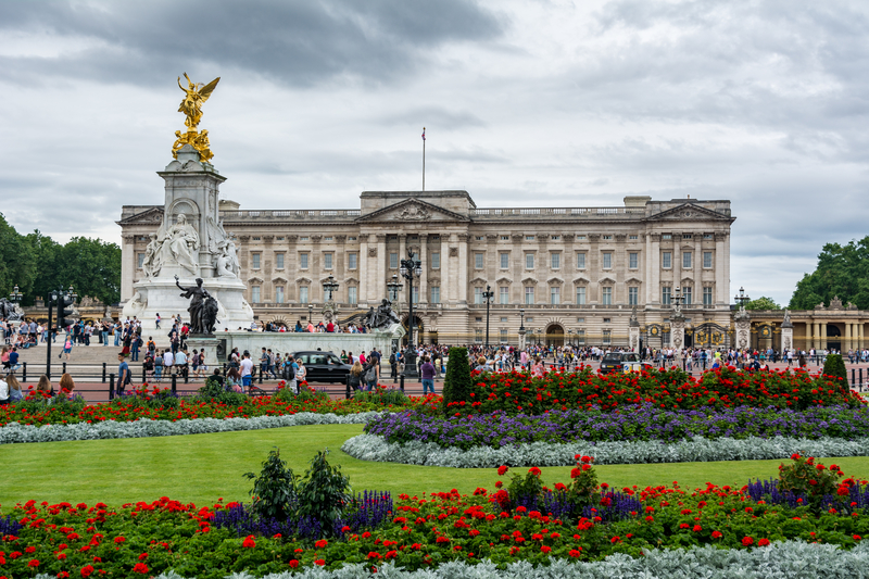 Generalny remont pałacu Buckingham