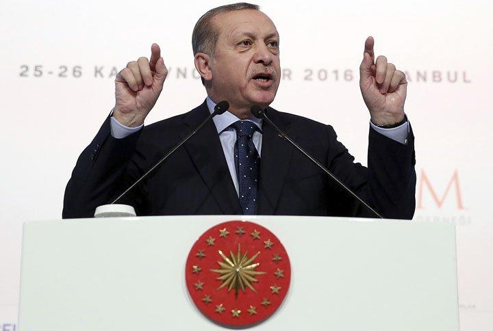 Prezydent Turcji skrytykował decyzję prezydenta Donalda Trumpa